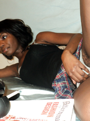 Hot amateur ebony chicks