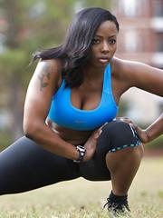 Black girl nude big breasts sex 15