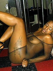 stripping Hot sexy naked black girls