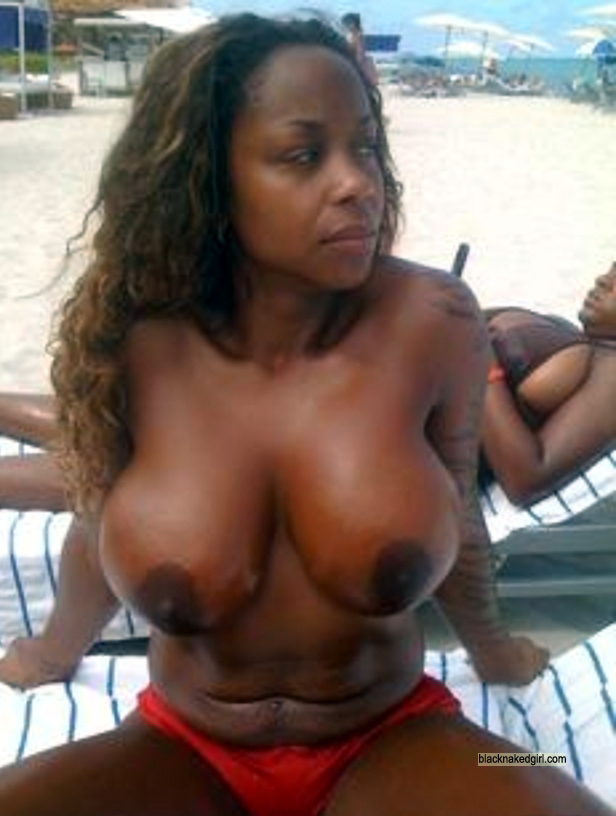 Black women naked with big tits