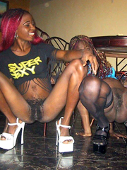 Black rachet chick from stockton ca - 5 9